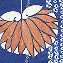 疋田と石畳に双葉葵の絵羽織 質感・風合