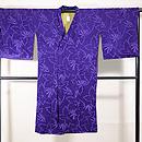 紫地、輪奈ビロードのコート 正面