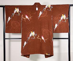 インコたちの羽織