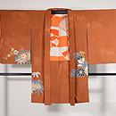 菊に竹梅の絵羽織 正面