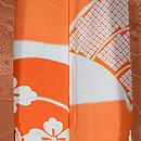 菊に竹梅の絵羽織 羽裏
