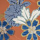 菊に竹梅の絵羽織 質感・風合