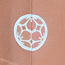 菊に竹梅の絵羽織 背紋
