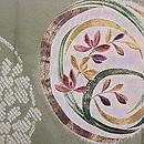 熨斗目風段ぼかしに花丸の絵羽織 質感・風合