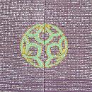 熨斗目風段ぼかしに花丸の絵羽織 背紋