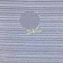 藍地蛍文様単衣小紋 質感・風合