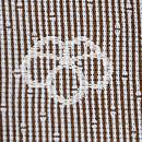 小宮康助作 竹縞の両面染江戸小紋 紋