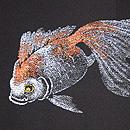 金魚の夏羽織 質感・風合
