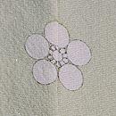 白樺にシャクナゲと葡萄の単衣訪問着 紋