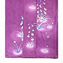 菖蒲色紋錦紗つりがね草訪問着 上前