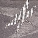 トンボの紗合わせ羽織 質感・風合