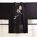 団扇の図紗合わせ羽織 正面