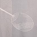 団扇の図紗合わせ羽織 質感・風合