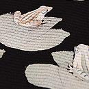 ハスにカエル絽小紋 質感・風合