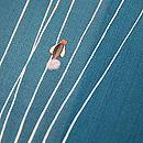 流水に蛍飛ぶ図単衣小紋 質感・風合