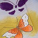 蝶々の単衣訪問着 質感・風合