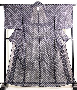 紗綾形の宮古上布