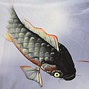 鯉の単衣小紋 質感・風合