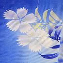 光琳水に秋野の花絽地小紋 質感・風合