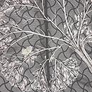 分銅繋ぎ文様の紗羽織 質感・風合