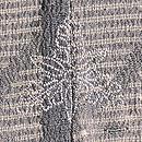分銅繋ぎ文様の紗羽織 背紋