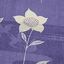 紋錦紗桔梗の単衣小紋 質感・風合