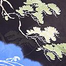 波間に老い松の単衣羽織 質感・風合