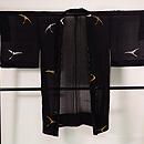雁の織り出し単衣羽織 正面