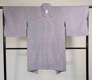 カシミール羽織グレーピンク Mサイズ
