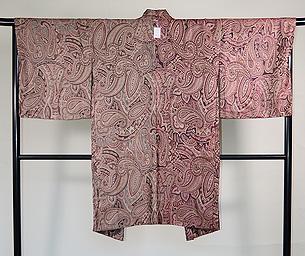 カシミール シルクウールの羽織