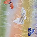 横段暈し春模様の刺繍訪問着 質感・風合