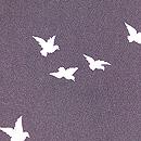 黒地鳩の羽織 質感・風合