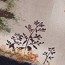 秋の山野図小紋 質感・風合
