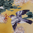 秋野にスズメの羽織 質感・風合