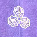 裾ぼかし短冊に歌文様絵羽織 背紋