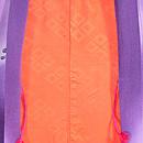 紫暈しコスモスと野菊の羽織 羽裏
