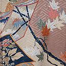草子紋様絵羽織 質感・風合
