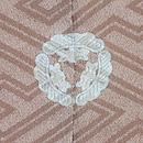 草子紋様絵羽織 背紋
