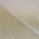 小宮康助作 縞に格子江戸小紋の羽織 質感・風合