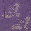 稲穂にふくら雀の小紋 質感・風合