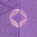 稲穂にふくら雀の小紋 背紋