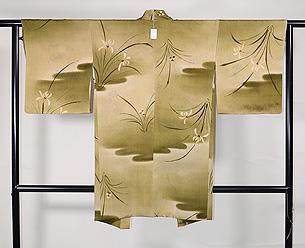 春蘭の羽織
