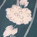 変わり立涌に小菊の小紋 質感・風合