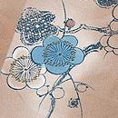 青い梅の小紋 質感・風合