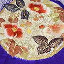 絞りに花丸紋の刺繍訪問着 質感・風合