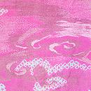 絞りに霊芝雲文の羽織 質感・風合
