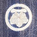 江戸小紋に凧の刺繍付下 背紋