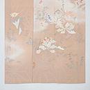 春を呼ぶ灰桜色訪問着 上前