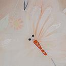 春を呼ぶ灰桜色訪問着 質感・風合