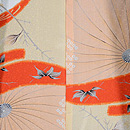 大小霰文様の羽織 羽裏